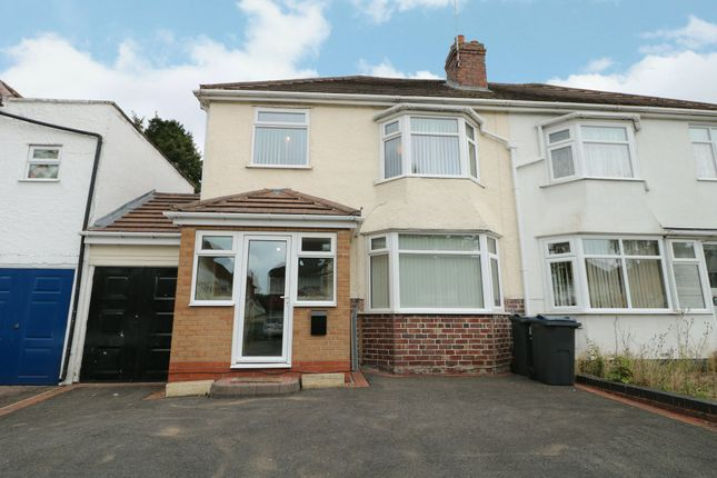 Semi-detached house for sale in Doveridge Road, Hall Green, Birmingham