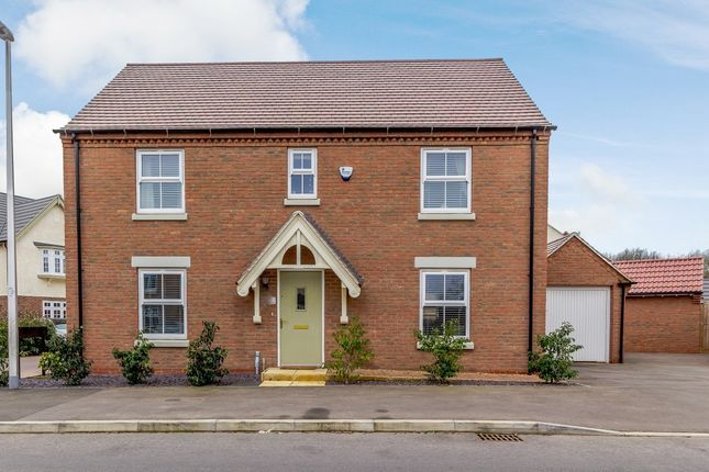 Thumbnail Detached house for sale in Watitune Avenue, Weddington, Nuneaton, Warwickshire