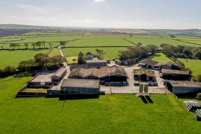 Thumbnail Farm for sale in Barnards Hill Farm, Hayscastle, Haverfordwest