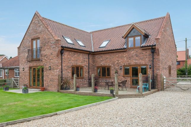 Thumbnail Detached house for sale in Chapel Road, Foxley, Dereham