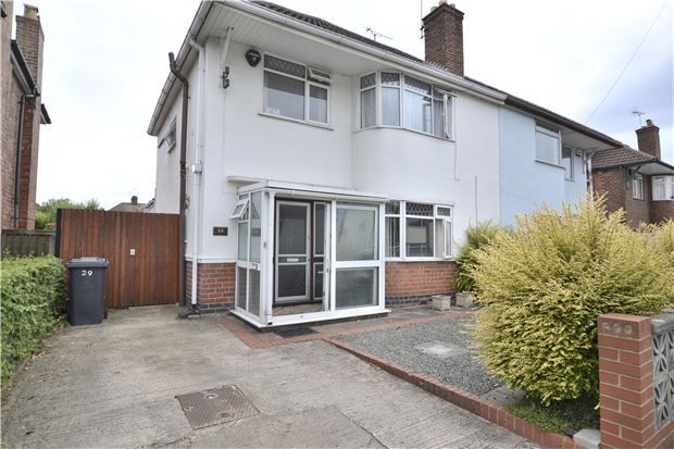 Thumbnail Semi-detached house for sale in Kingscroft Road, Hucclecote, Gloucester
