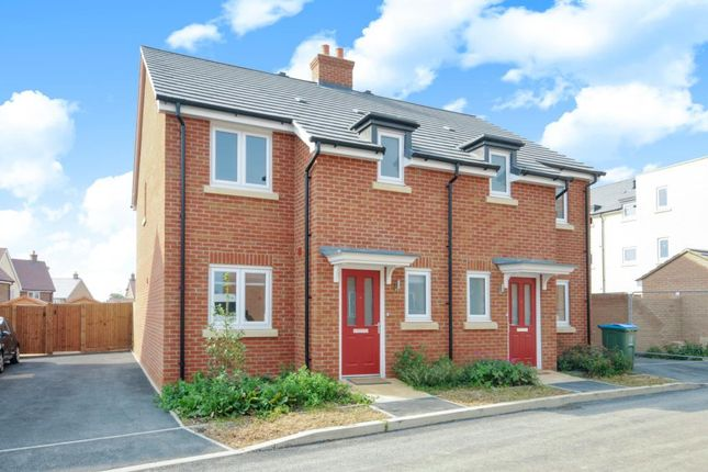 Thumbnail Semi-detached house to rent in Lakeland Drive, Aylesbury
