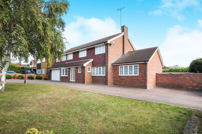 Thumbnail Detached house for sale in Ringwood Road, Luton