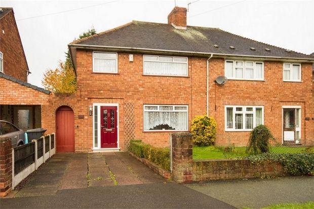 Semi-detached house in  Harper Avenue  Wednesfield  Wolverhampton  West Midlands W Birmingham