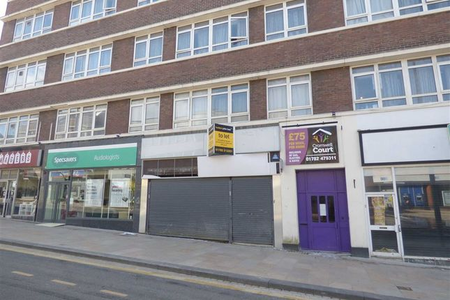 Thumbnail Retail premises to let in Stafford Street, Stoke-On-Trent, Staffordshire