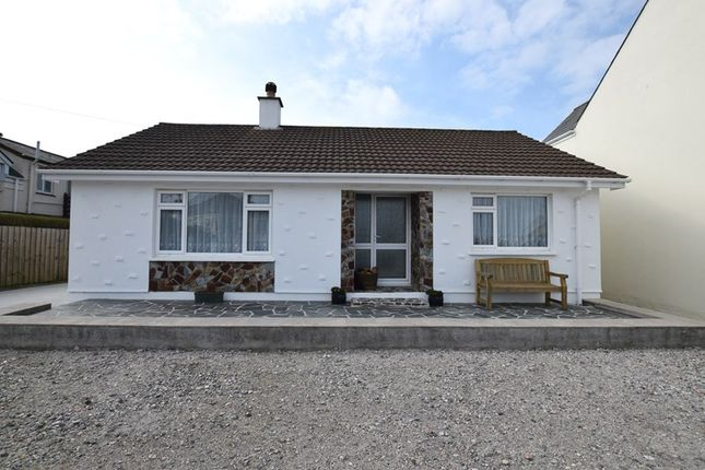 Thumbnail Detached bungalow for sale in Newquay Road, Goonhavern, Truro