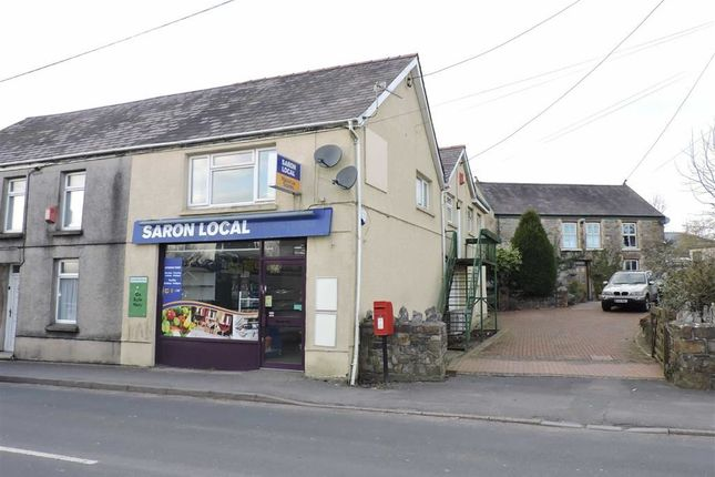 Thumbnail Property for sale in Saron Road, Saron, Ammanford