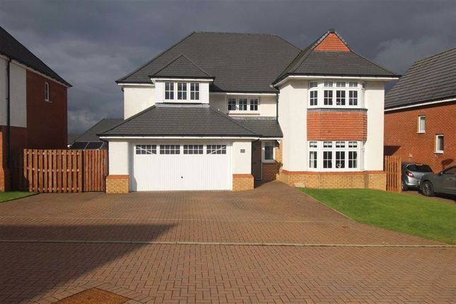 Thumbnail Detached house for sale in Clocherlee Place, Inverkip, Greenock
