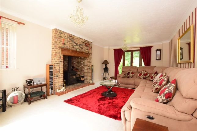 Thumbnail Detached house for sale in Rectory Close, Ashington, West Sussex