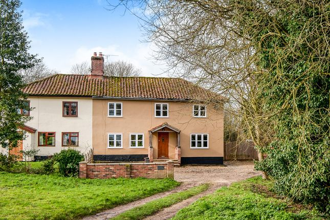 Thumbnail Semi-detached house for sale in Magpie Green, Wortham, Diss