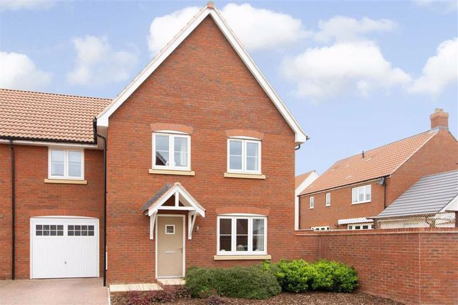 Thumbnail Semi-detached house for sale in Cranesbill Crescent, Charfield, Wue