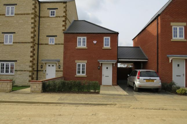 2 bed semi-detached house to rent in Poppyfield Road, Wootton, Northampton NN4