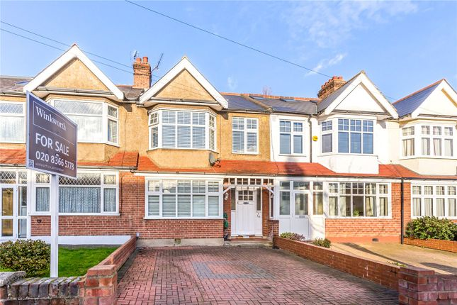 Thumbnail Terraced house for sale in Chase Side Avenue, Enfield