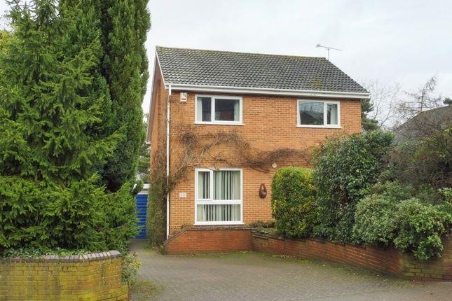 Thumbnail Detached house for sale in Hardwick Road, Woburn Sands, Milton Keynes