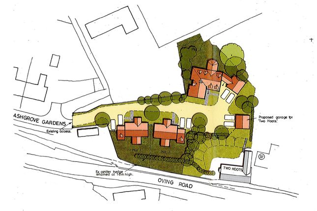 Thumbnail Land for sale in Oving Road, Whitchurch, Aylesbury