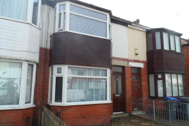 Thumbnail Terraced house for sale in Southbank Avenue, Blackpool
