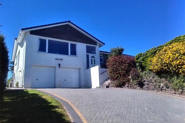 Thumbnail Detached bungalow for sale in Portbyhan Road, Looe, Cornwall