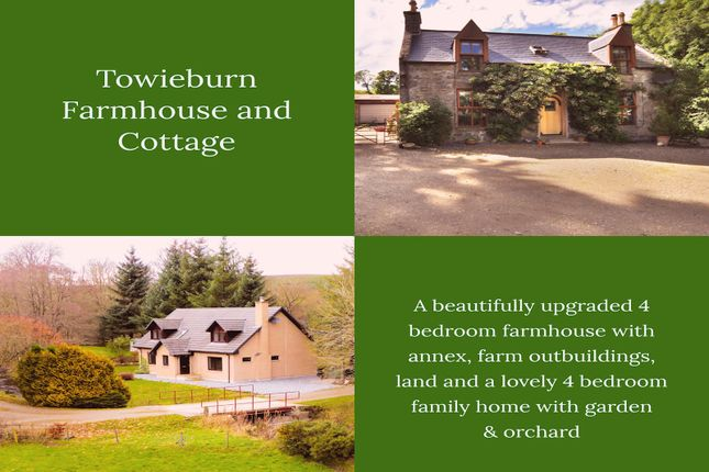 Thumbnail Detached house for sale in Towieburn House And Cottage, Drummuir, Keith, Banffshire
