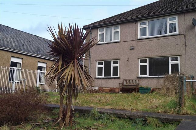 Thumbnail Flat for sale in The Poplars, Mountain Ash