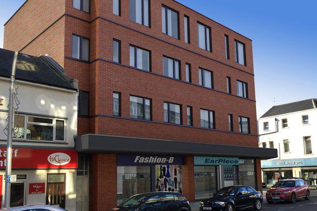 Thumbnail Studio for sale in Flat 12 'viking House', 2 Dane Street, Bedford