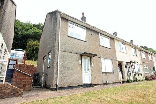 Thumbnail End terrace house for sale in Graig Wood Close, Newport