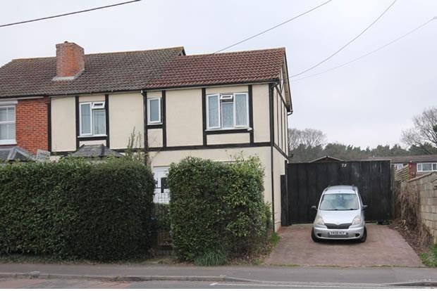 Thumbnail Semi-detached house for sale in Sandy Lane, Farnborough