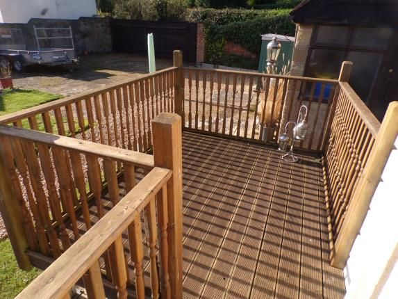 Decked Patio of Wootton Bridge, Ryde, Isle Of Wight PO33