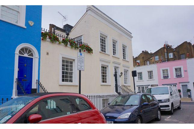 Thumbnail End terrace house for sale in Callcott Street, Kensington