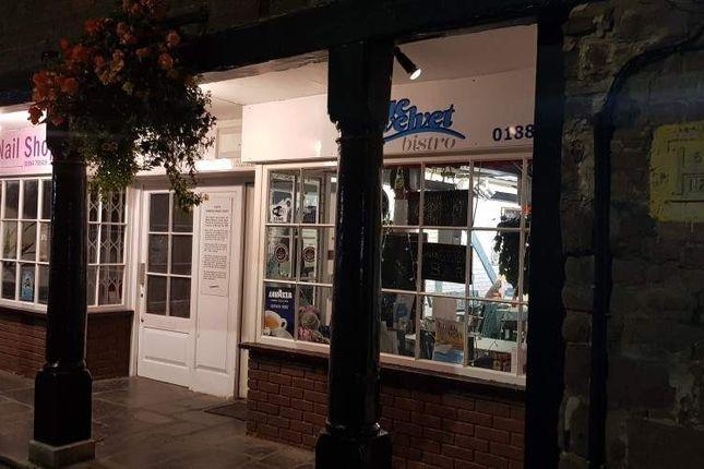 Thumbnail Restaurant/cafe for sale in Bampton Street, Tiverton