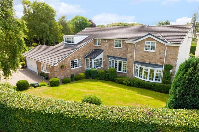 Thumbnail Detached house for sale in Foxhill Crescent, Weetwood, Leeds