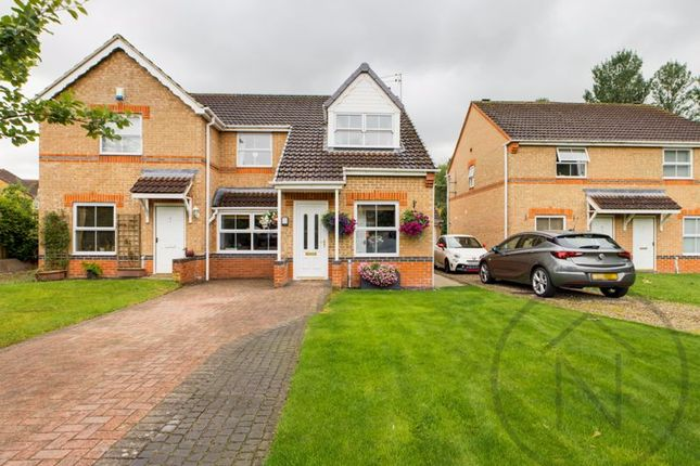 Thumbnail Semi-detached house for sale in Gamul Close, Newton Aycliffe
