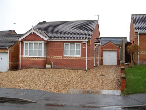 Thumbnail Bungalow for sale in Woodside, Branston, Lincoln, Lincolnshire