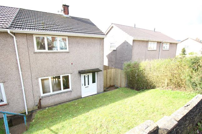 Thumbnail Semi-detached house to rent in Elm Drive, Risca, Newport