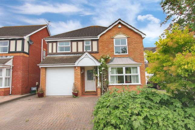 Thumbnail Detached house for sale in Windsor Close, Magor, Caldicot