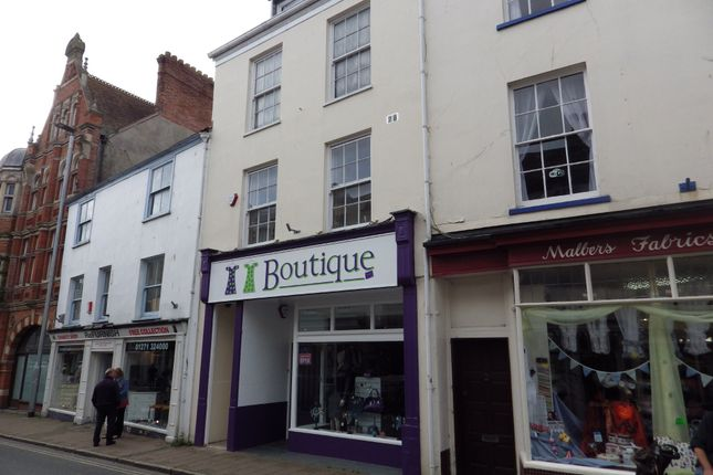 Thumbnail Flat to rent in Boutport Street, Barnstaple