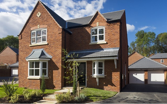 Thumbnail Detached house for sale in The Willington, Wharford Lane, Runcorn, Cheshire