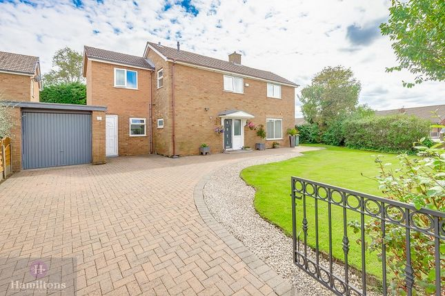 Thumbnail Detached house for sale in Landside, Leigh, Greater Manchester.