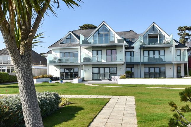 Thumbnail Flat for sale in Seascape, 27 Wharncliffe Road, Highcliffe, Dorset