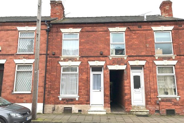 Thumbnail Terraced house to rent in Laurel Avenue, Mansfield, Nottinghamshire