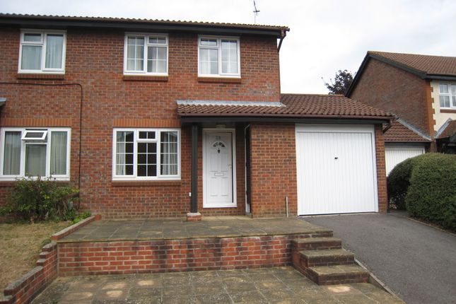 Thumbnail Semi-detached house to rent in Clover Way, Romsey