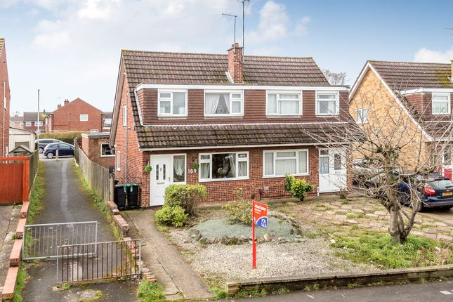 Thumbnail Semi-detached house for sale in Grangeway, Rushden