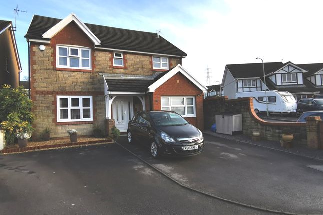 Thumbnail Detached house for sale in Heol Pencastell, Kenfig Hill