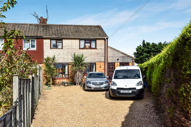 Thumbnail Semi-detached house for sale in Barnes Road, Frimley, Camberley, Surrey