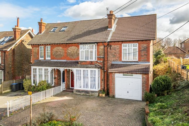 Thumbnail Semi-detached house for sale in Midfields Walk, Mill Road, Burgess Hill