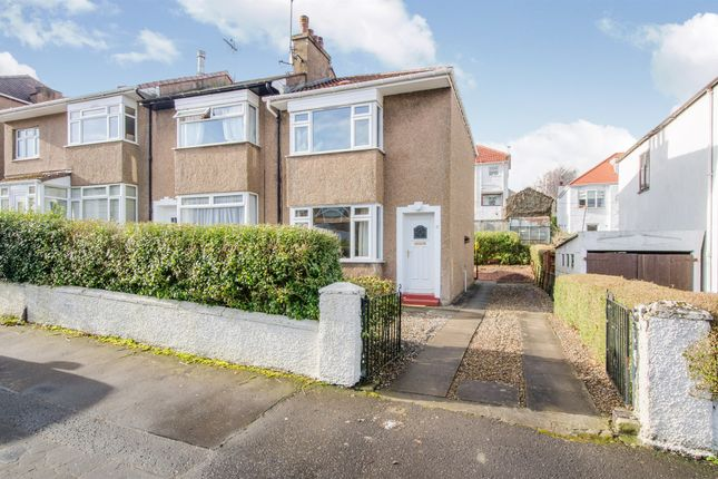 Thumbnail End terrace house for sale in Stamperland Hill, Clarkston, Glasgow