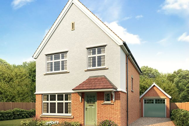 Thumbnail Detached house for sale in Kingsbourne, Waterlode, Nantwich, Cheshire