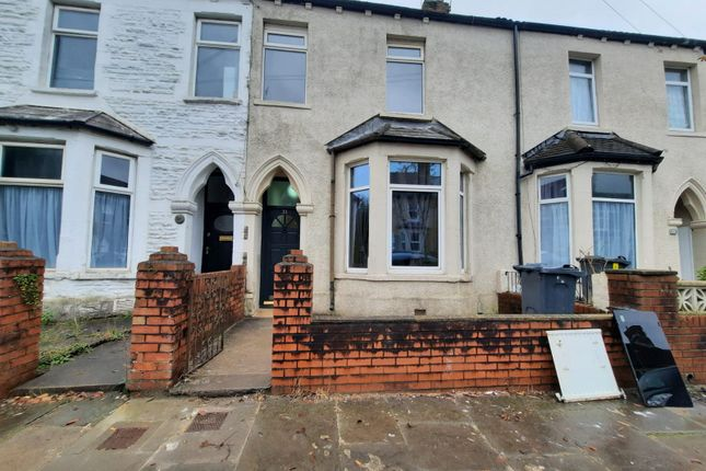 Thumbnail Terraced house to rent in Llantrisant Street, Cardiff
