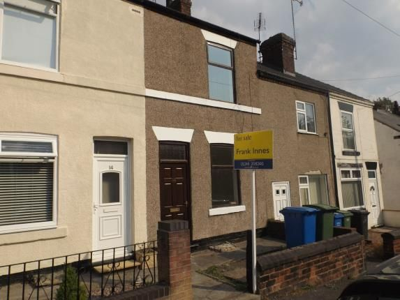 Thumbnail Terraced house for sale in William Street North, Old Whittington, Chesterfield, Derbyshire