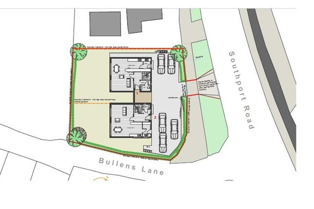 Thumbnail Commercial property for sale in Land At Bullens Lane, Scarisbrick, Southport