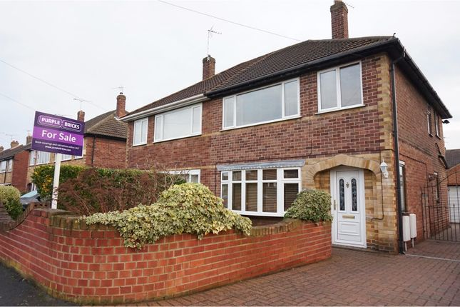 Thumbnail Semi-detached house for sale in St. Christophers Crescent, Doncaster